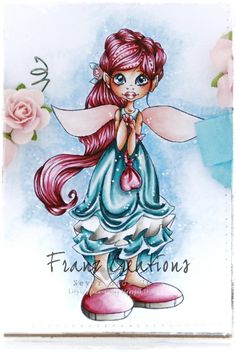 Copic Marker Europe: Pink Fairy.    Copic Markers used: Skin: E0000, E000, E00, E11, E13 + R20 for cheecks Hair: RV000, R81, R83, R85, R89, E59 Outfit/Blue Green: BG11, BG70, BG72, BG75, BG78 Outfit/Pink: RV000, R81, R83, R85, R89 Outfit/Warm Gray: W1, W3, W5 Wings: R000, R20 Background: Prismacolor Pencils and Zest Oil