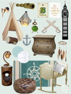 Peter Pan Inspired Nursery