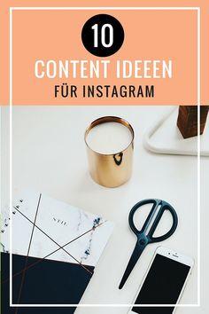Instagram Content Ideen