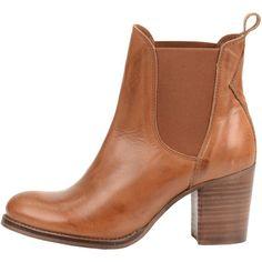 Schöne braune Stiefeletten von Sacha. Diese Schuhe haben einen Blockabsatz und sehen sehr stylisch aus. ♥ ab 99,99 €