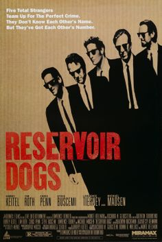 """Reservoir Dogs"" (1992). DIRECTOR: Quentin Tarantino."