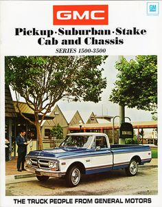 1971 GMC Pickup, Suburban, Stake & Cab and Chassis Trucks via Alden Jewell on Flickr