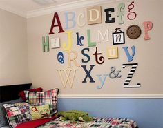 I wanted to do this is Ry's room but doug wasn't a fan. Maybe in his next room :-)