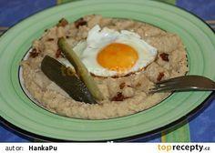 Hrachová kaše Grains, Eggs, Breakfast, Morning Coffee, Egg, Seeds, Egg As Food, Korn