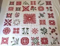 Chester Criswell Quilt finished blocks