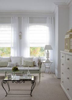 Sheer unlined romans - magical   www.lifestyleblinds.com