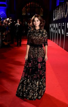 9 Times Jenna Coleman Was The Queen Of The Red Carpet - Pretty 52