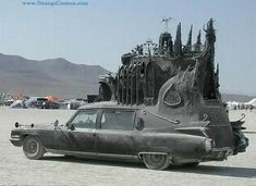 The ultimate gothic hearse, a 1959 Cadillac