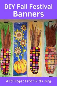 DIY Fall Festival Banners · Art Projects for Kids