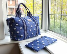 Cath Kidston Foldaway Shopper Bag - Pom Pom Spot - Brand New, only 2 available. Cath Kidston X Disney, Cath Kidston London, Cath Kidston Wallet, Cath Kidston Bags, Zip Wallet, Purse Wallet, Pouch, Holiday Bags, Down Winter Coats