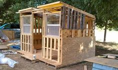 pallet shed - Maybe Steve could do this.  Think he could make it big enough for all the lawn stuff?