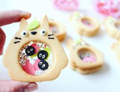 Are Shakashaka Cookies Dessert or a Toy? Who' Cookies Et Biscuits, Sugar Cookies, Cute Desserts, Cookie Desserts, Cookie Recipes, Kawaii Cookies, Cute Cookies, Dessert Kawaii, Pie Cake