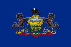 Pennsylvanias flag - click to see all state flags