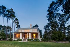 Home with spacious porch | Lowcountry Living | Southern Style Homes | Vacation Real Estate South Carolina