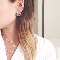 Multiple Ear Piercings: 30 Combinations to Copy   StyleCaster