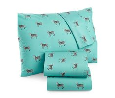 Martha Stewart Whim Collection Novelty Print 200 Thread Count Sheet Sets - Sheets - Bed & Bath - Macy's