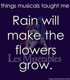 things musicals taught me les miserables | Things Musicals Taught Me, submitted by purplemay-e
