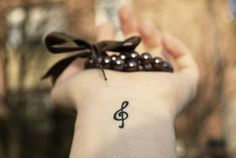 #tattoos #wrist #music