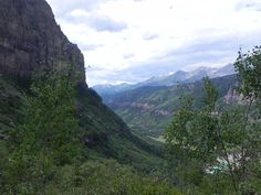 Looking down on Telluride, Colorado. Photo by Mary K. Doyle