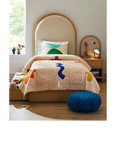 Domino Mag x Crate & Kids: Cool Kids Furniture & Decor | Crate & Kids Kids Furniture, Furniture Decor, Kids Decor, Home Decor, Cool Kids, Crates, Kids Room, Bed, Color