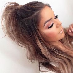 52 Quick And Easy Half Up Half Down Hairstyles Hair Hair Styles