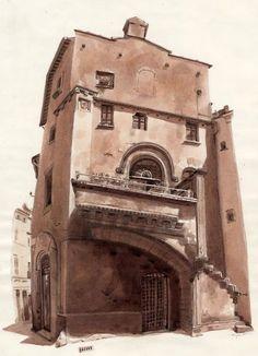 Galiana's House, Viterbo, Italy FredLynch.com