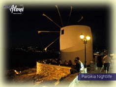 The center of Paros nightlife is Naoussa and Parikia, where most of the best bars and restaurants in Paros promise you an unforgettable time. Paros Greece, Paros Island, Greece Holiday, Tourist Spots, Cool Bars, Greek Islands, Homeland, Nightlife