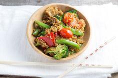 Vegetable Quinoa Stir Fry | The Local Taste