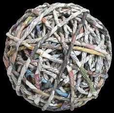 Paper ball and photo by Ivano Vitali - Firenze Italy EU Firenze Italy, Paper Balls, Josephine, Art Plastique, Fiber, Textiles, Stamp, Artist, Fabric