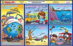 Galeria de chikilines   Chikipedia - Láminas Escolares Esl Lesson Plans, Safety Posters, Esl Lessons, Mandala Design, Design Art, How To Plan, History, Comics, Drawings