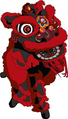 Chinese Lion Dance for the Chinese New Year!