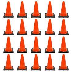 """20 PCS Traffic Cones Deal (12"""" HT)"""
