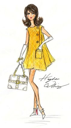 Hayden Williams Fashion Illustrations: Hayden Williams For Barbie BFMC F/W.
