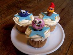 Moshi Monsters - by DollybirdBakes @ CakesDecor.com - cake decorating website