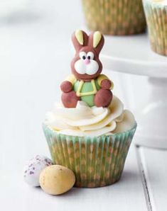Gluten Free Easter Cupcakes - #gluten #free #Easter #recipes