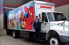 The Book Fair truck!