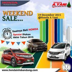 Weekend Sale PROMO HEBOH HONDA Bandung Akhir Tahun, Stock Semakin Menipis... Proses Cepat Dibantu Hingga Tuntas BUKTIKAN, Kontak sales HONDA bandung terpercaya 085220860099 WA 081809047180 Pin 5805B7BB www.hondainfobandung.com #hondabandung #mobilhonda #mobilhondabandung #dealerhondabandung #saleshonda #saleshondabandung #promohonda #promohondabandung #infohonda #infohondabandung