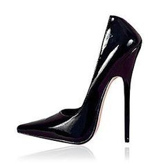 6.3in Heel Height  Stiletto Heel Women's Pumps Sexy Shoes  Patent Leather High Heels