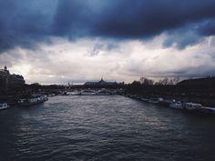 Paris, Seine river