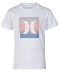 Hurley Logo-Print Cotton T-Shirt, Little Boys (4-7) - White 4