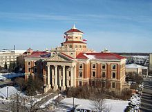 University of Manitoba's Administration Building (Winnipeg, Manitoba, Canada)