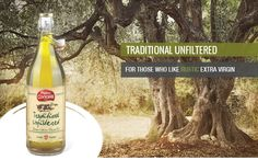 Extra Virgin Olive Oil - TRADITIONAL UNFILTERD -