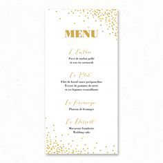 Calligraphy Menu Wedding Menu Printable Menu Cards Script Menu