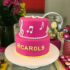 Musical.ly party #musicallycake #musicallyparty