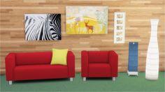 IKEA Goodies 2.0 KLIPPAN Loveseat - comfort/loveseats KLIPPAN Armchair (add-on by me) - comfort/living chairs KLIPPAN Pillow - comfort/misc MAREK Lamp - lighting/floor lamps STORM Floor Lamp - lighting/floor lamps PJATTERYD Zebra - decorations/paintings PJATTERYD Deer - decorations/paintings RIBBA Frame - decorations/paintings DOWNLOAD: mediafire / dropbox