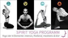 Program Spirit Yoga Programm: Yoga der 4 Elemente