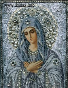 Diy Diamond Painting Cross Stitch Religion Icon of Leader Round Diamond Mosaic Needlework Crafts Diamond Embroidery 26 x Religious Pictures, Religious Icons, Religious Art, Religious Paintings, Religious People, Blessed Mother Mary, Blessed Virgin Mary, Virgin Mary Art, Diamond Picture