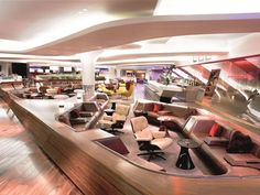 5 Luxurious Airport Lounges with Extravagant Amenities