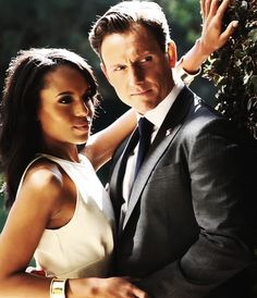 Kerry Washington & Tony Goldwyn- Scandal