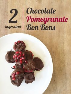 Chocolate pomegranat